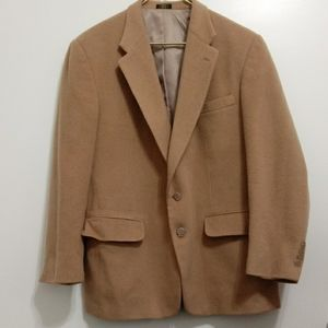 Stafford Camel Sport Coat